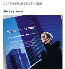 Communications Design - driving force